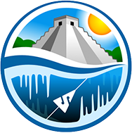 Underworld pyramidand water logo